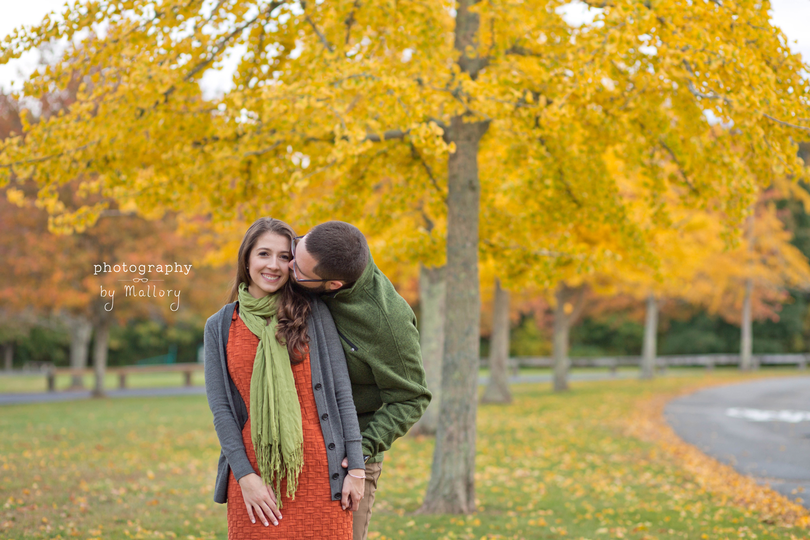 Chelsea and Andrew's Engagement | Colt State Park